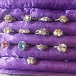 Bundle of 13 Avon Rings